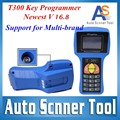 2016 Newest V16 8 AutoT300 Key Maker T 300 Key Programmer Auto Transponder Key T300 Programmer