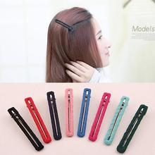 Solid Colors Cloth Wrapped Simple Style Girls Hair Clips Trendy Headwear Hair Accessories for Women