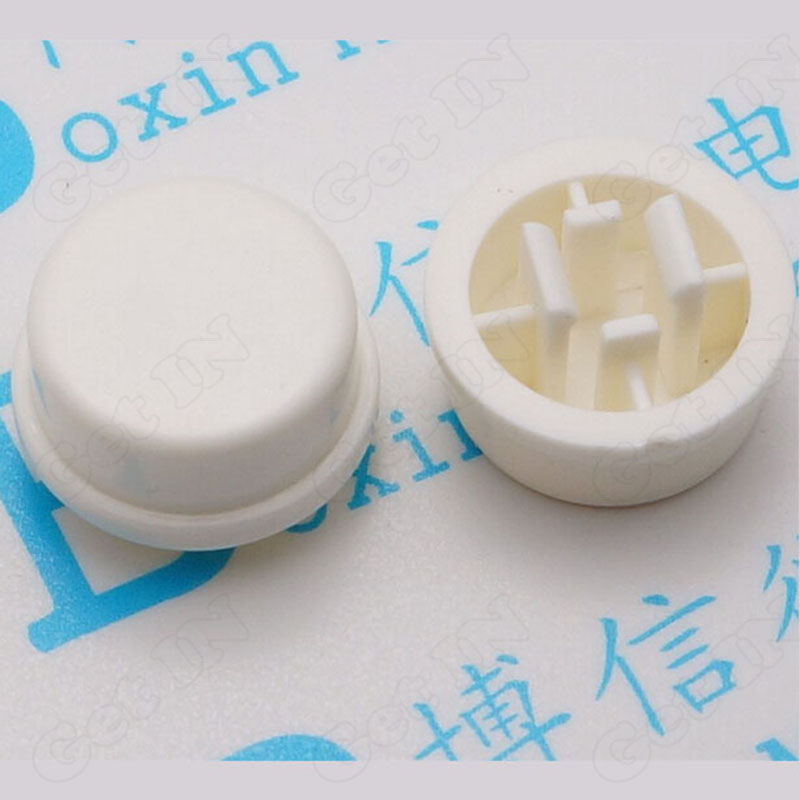 50pcs Tactile Switches W/Round Cap Tact Switch 12*12*7.3 mm<br><br>Aliexpress