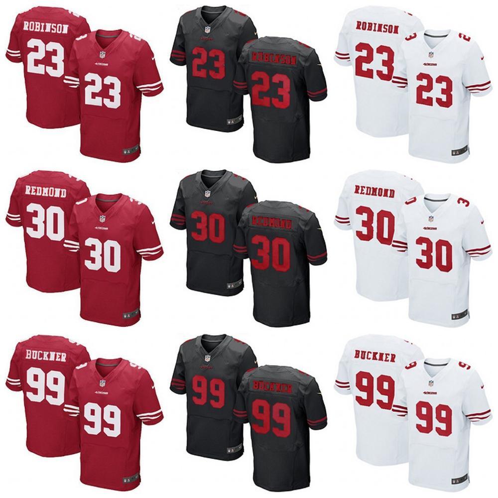 San Francisco 49ers Drift Fashion II Elite ROBINSON REDMOND BUCKNER(China (Mainland))