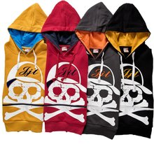 14 new skull style hats, a variety of color fashion boy clothes free shipping(China (Mainland))