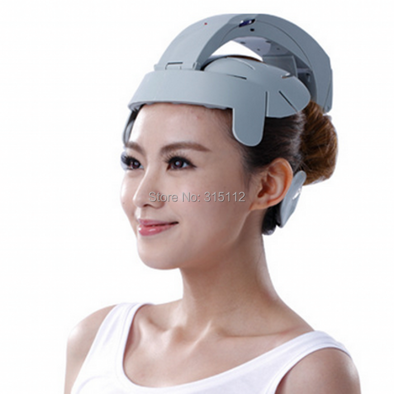 Electric head massage device multifunctional vibration massage machine acupuncture points scalp head massager(China (Mainland))
