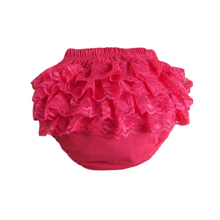 Free shipping baby cotton bloomers cute baby pants lace crumple hot baby shorts Factory outlets(China (Mainland))