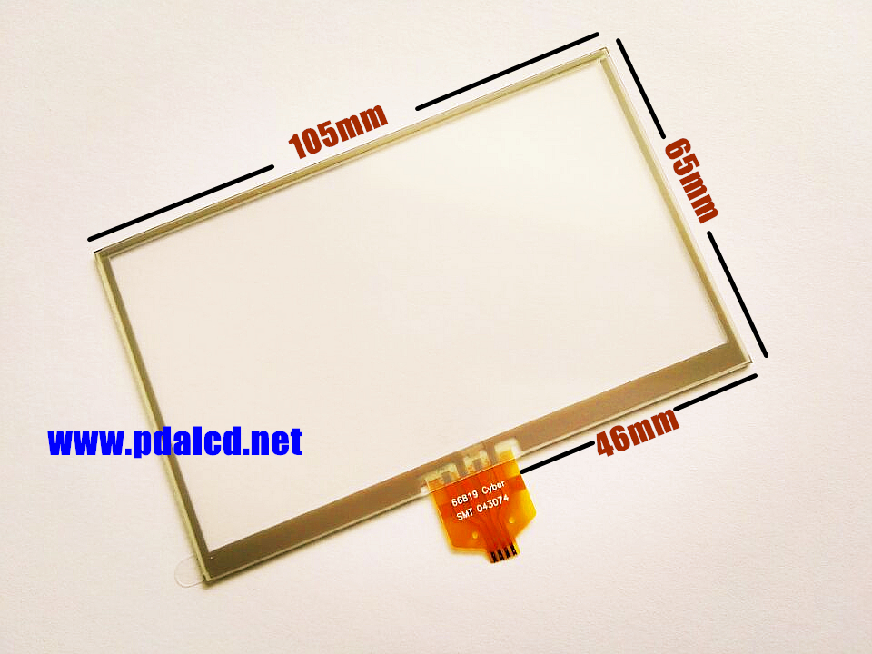 10pcs/lot New 4.3-inch Touch screen panels for TomTom XL 4ET03 GPS Touch screen digitizer panel replacement Free shipping<br><br>Aliexpress