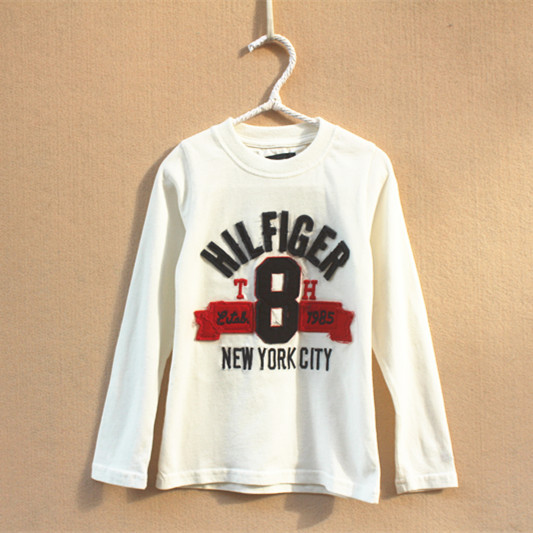 4 colors Hot Brand children clothing 2015 new Summer Fashion boys clothes long sleeve t shirt O-Neck Letter boy's Cotton - Yongsheng Trading Co., LTD. store