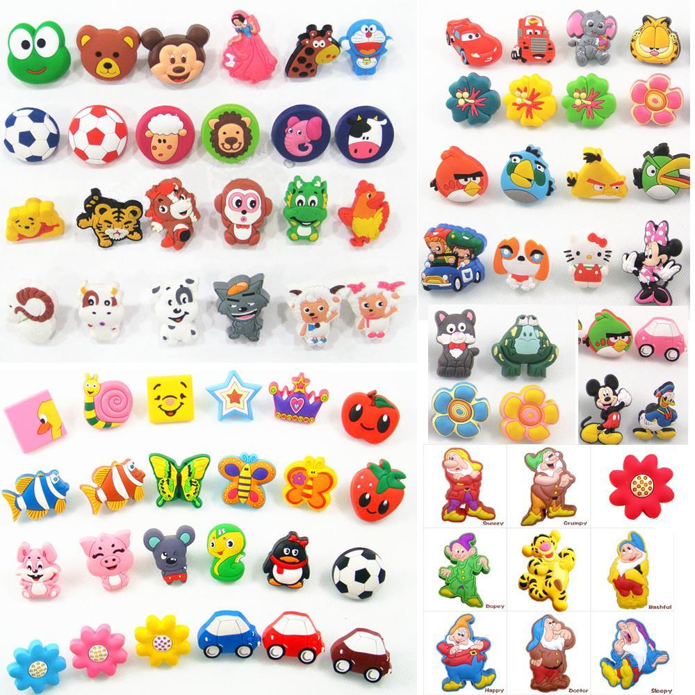 Cartoon Soft Gum Children Room Cabinet Drawer Knob Wardrobe Handle Furniture Closet Dresser Pulls for Kids Nursery Rooms(China (Mainland))