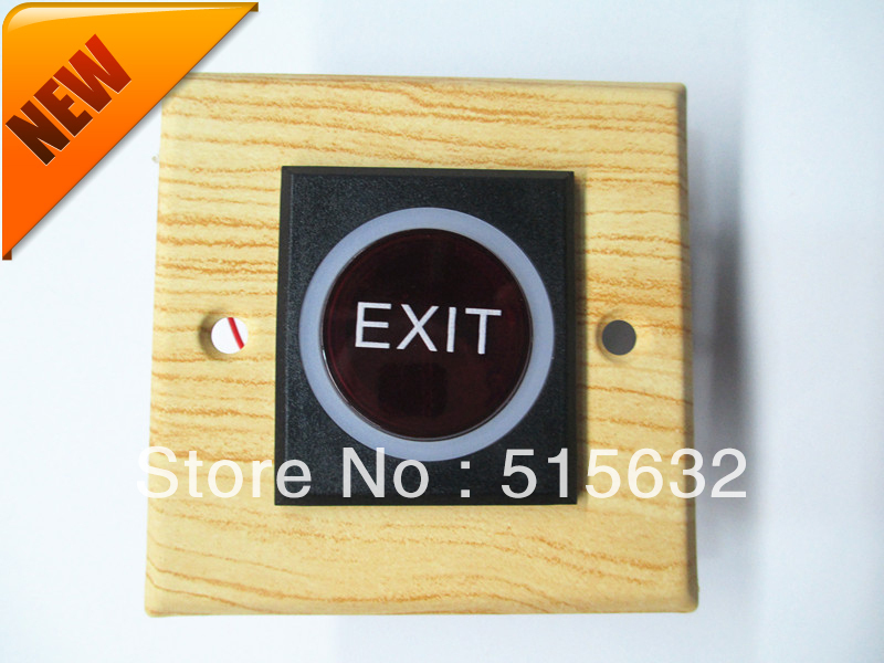 2013 NEW decorative pattern OEM Door Infrared Sensor No Touch Request Exit sensor Button Switch With LED<br><br>Aliexpress