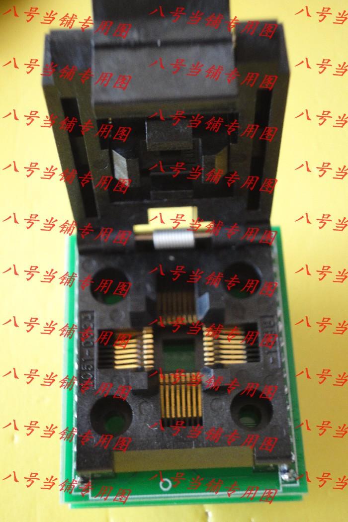 Free shipping Gold plated SA663 adapter PQFP/LQFP/TQFP/QFP32 DIP32 burning brush to write switch element(China (Mainland))