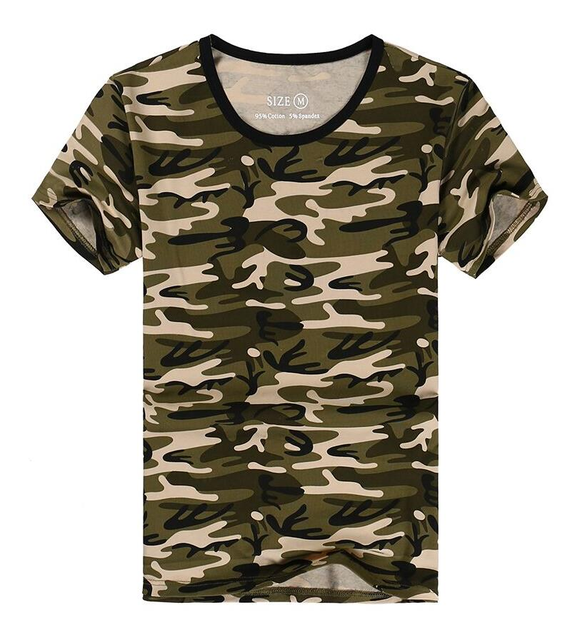 shirt military camo camp mens t shirts fashion 2016 tees in t shirts. Black Bedroom Furniture Sets. Home Design Ideas