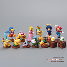 Buy Free Super Mario Bros Koopalings PVC Action Figure Collection Model Toys Dolls 13pcs/set New Box Yellow SMFG053 for $15.95 in AliExpress store