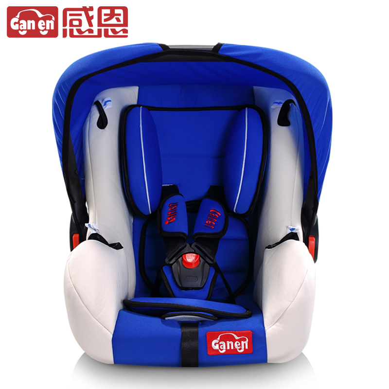 Free Shipping Genen Newborn Baby Basket Type Car Child Safety Seat with Cover High Quality Baby Car Seat Kids Sky blue Cradle<br><br>Aliexpress