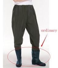 Рыбацкие водостойкие камуфляжные брюки с поясом мужские и женские уличные охотничьи Нескользящие ботинки дышащие брюки(China)