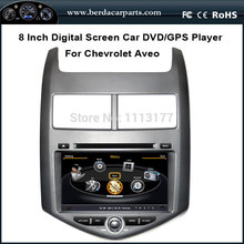 Car DVD Video Player For Chevrolet Aveo 2011 With GPS Navigation Radio Bluetooth Ipod Free Map