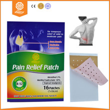 Health Care 2015 Advanced Polyester Pain Relief Patch Same as Salonpas 16 Pcs/box Medical Adhesive Plaster for Back Pain Relax