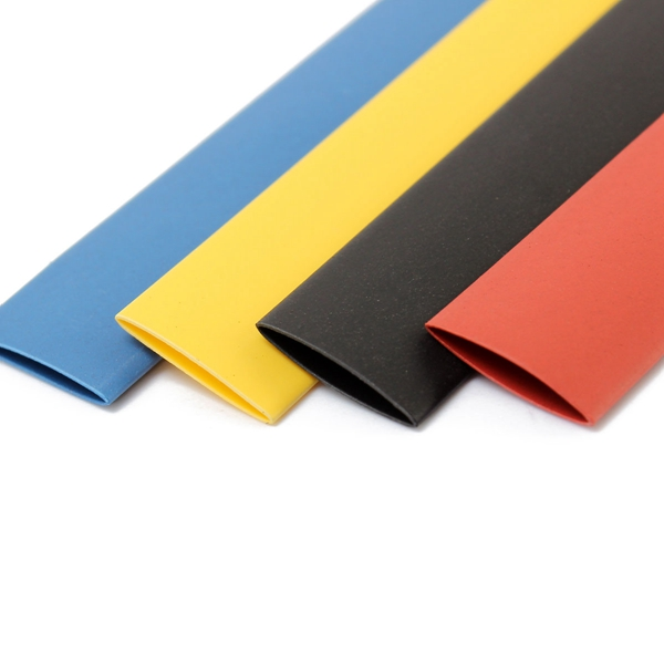 2015 Excellent Professional 328Pcs 8 Sizes Polyolefin 2 1 Halogen Free Heat Shrink Tubing Tube Sleeving