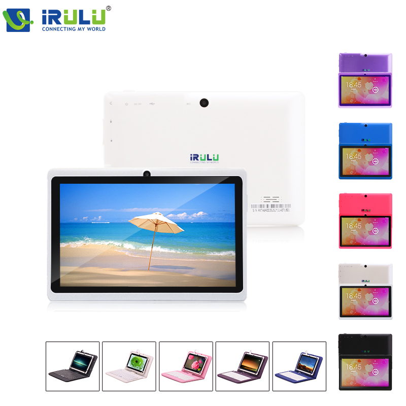 """iRULU eXpro X1 7"""" Tablet PC Quad Core 1024*600 HD Android4.4 Kitkat Tablet 16GB ROM Dual Camera Support OTG WIFI With Keyboard(China (Mainland))"""
