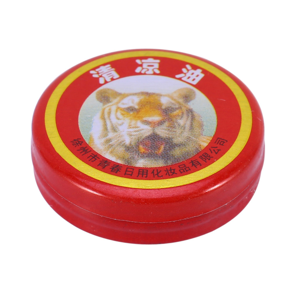 10pcs/lot Tiger Balm Plaster Ointment Creams Balsamo de Tigre Essential Oils For Mosquito Elimination Headache Cold Dizziness