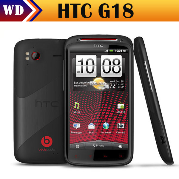 11.11 Sale G18 Sensation XE Original Android HTC Sensation XE Z715E G18 8MP WIFI GPS 4.3''TouchScreen Unlocked Cell Phone(China (Mainland))