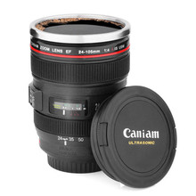 New Creative Caniam Lens Cup Mug Same Size With Canon EF 24-105mm For Coffee Tea Milk Water Free shipping(China (Mainland))