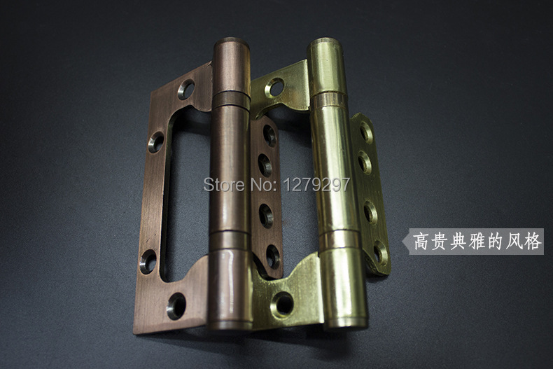 4 inch iron hinge mute wood door hinge two manufacturers selling hinges hinge special(China (Mainland))