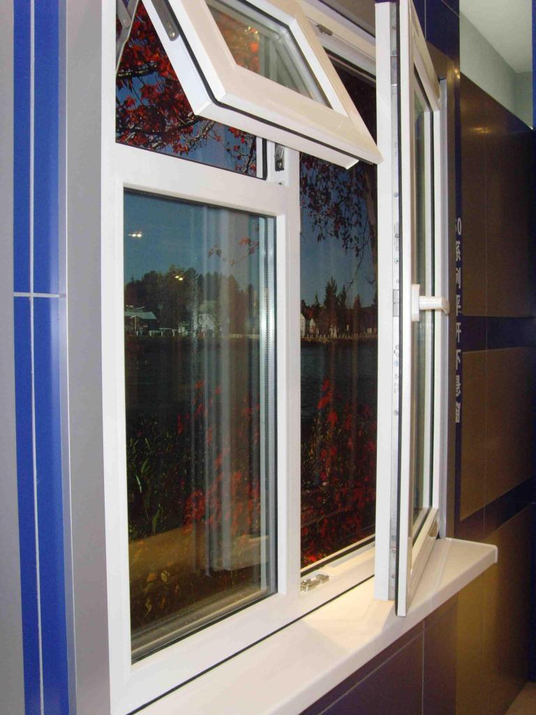 pvc window and door awning window pvc profile window and door(China (Mainland))