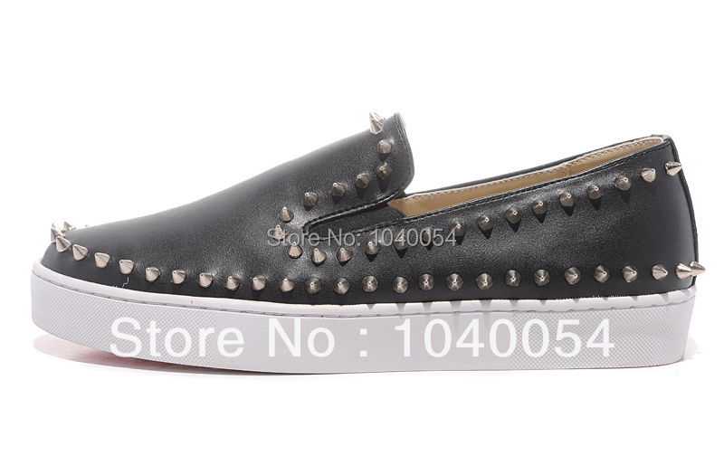 2014 new GZ same paragraph style black sheepskin rivet tip low to help, men and women 36-47, gz casual shoes,(China (Mainland))