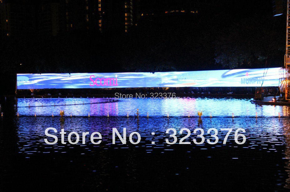 product P7.62 indoor full color led display with very nice performance in Malaysia Kuching
