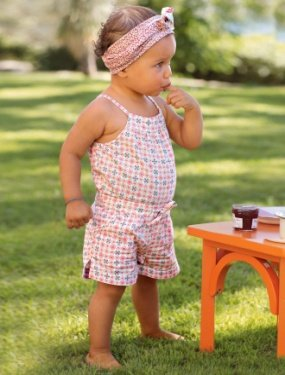 AMISSA suits sets baby girl's romper flower scarf hair accessory dress jumper shorts 20