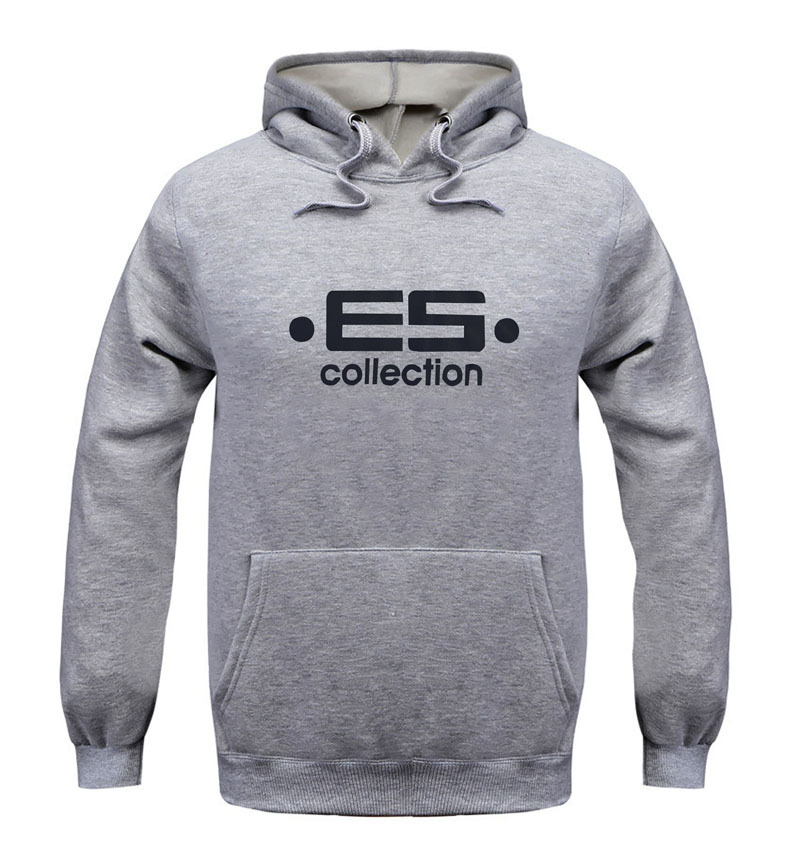 Hot!High quality es collections men cashmere E5 Hoodie Sportswear Fashion 2016 For men&women Cotton addicted Jogging jacket(China (Mainland))