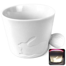 Bunny Style Ceramic Material Water / Coffee / Beverage Mug – 280ml