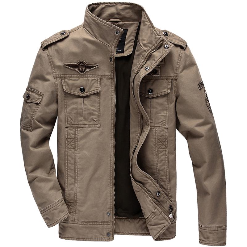 6xl casual vestes d hiver homme manteaux hommes arm e. Black Bedroom Furniture Sets. Home Design Ideas