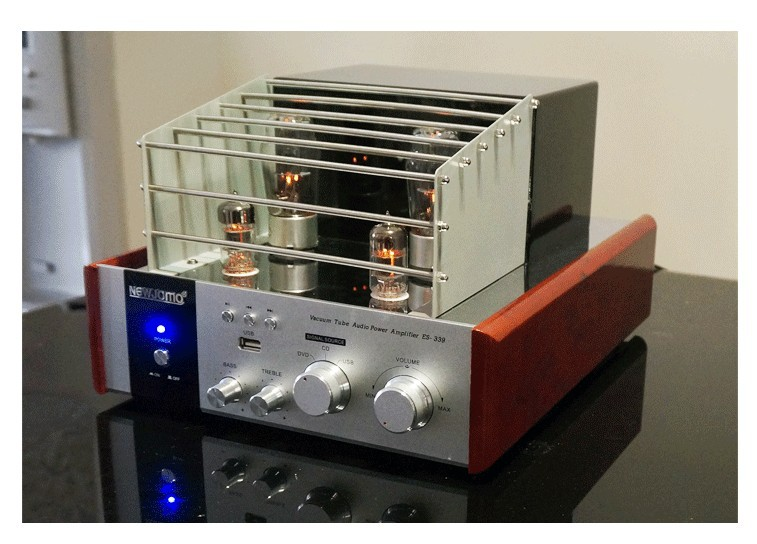 New Jamo ES-339 Hifi 2.0 Tube Vacuum Amplifier USB Home Audio Subwoofer Output Amplifier 35W+35W 220V ONLY!(China (Mainland))