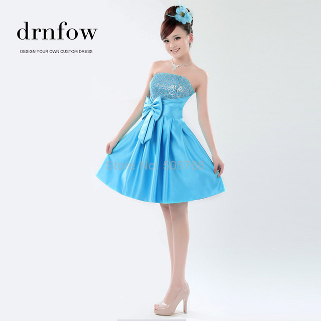 Короткие принцесса платья возвращения на родину 2016 мода новое поступление элегантный ...