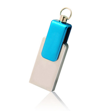 Real Capacity 16GB Mini Usb Otg Flash Drive Smartphone Pen Drive Rotation Usb Stick