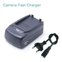 LP-E6 LPE6 LP E6 Battery Camera Car + Desktop Travel Charger With USB Port For Canon 5D Mark II 7D 60D 70D EOS 6D