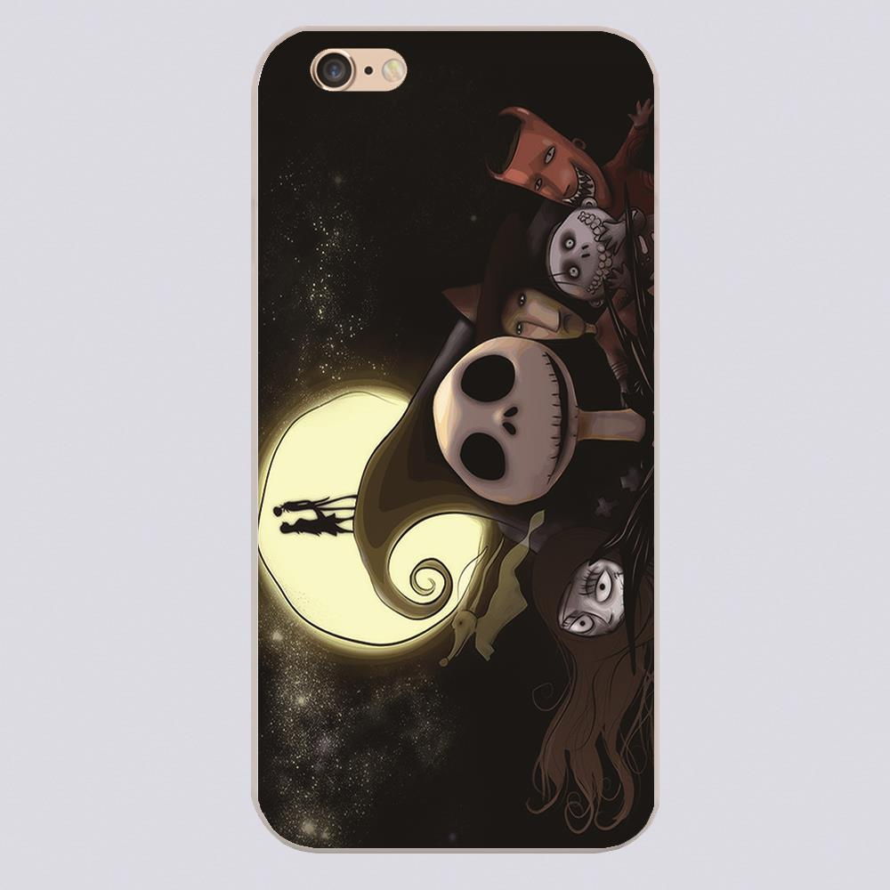 The Nightmare Before Christmas_Sample case for iphone 4 4s 5 5s 5c 6 6s plus samsung galaxy S3 S4 mini S5 S6 Note 2 3 4 z2802(China (Mainland))