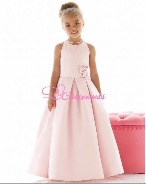 2014 new Lovely Flower Girl Dresses kid pageant dresses girls birthday wedding