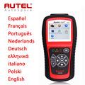 New Autel Autolink AL519 Full System OBD2 Scanner Car DTC Code Read Erase AL 519 OBDII
