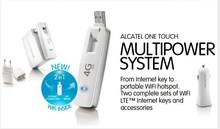Unlocked origine Alcatel W800 W800Z 100 Mbps 4 G FDD 800 / 900 / 1800 / 2600 MHz 3 G 10 WiFi sans fil USB Modem Dongle PK Huawei E8278(China (Mainland))