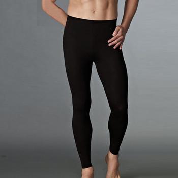 Мужчины термобелье нижнее сжатия длинные брюки спортивные зимние леггинсы