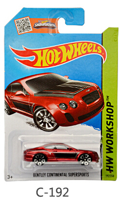 Hot Wheels model c192 Sports car kids toys Plastic metal miniatures classic collectible toy car Authorized sales Toy Vehicles(China (Mainland))