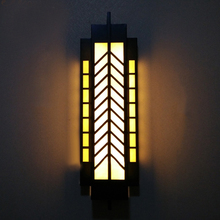 garden lamp post lights gate outdoor pillar lights Hotel Lobby wall sonce led facade lighting Waterproof Outdoor Wall Lamps(China (Mainland))