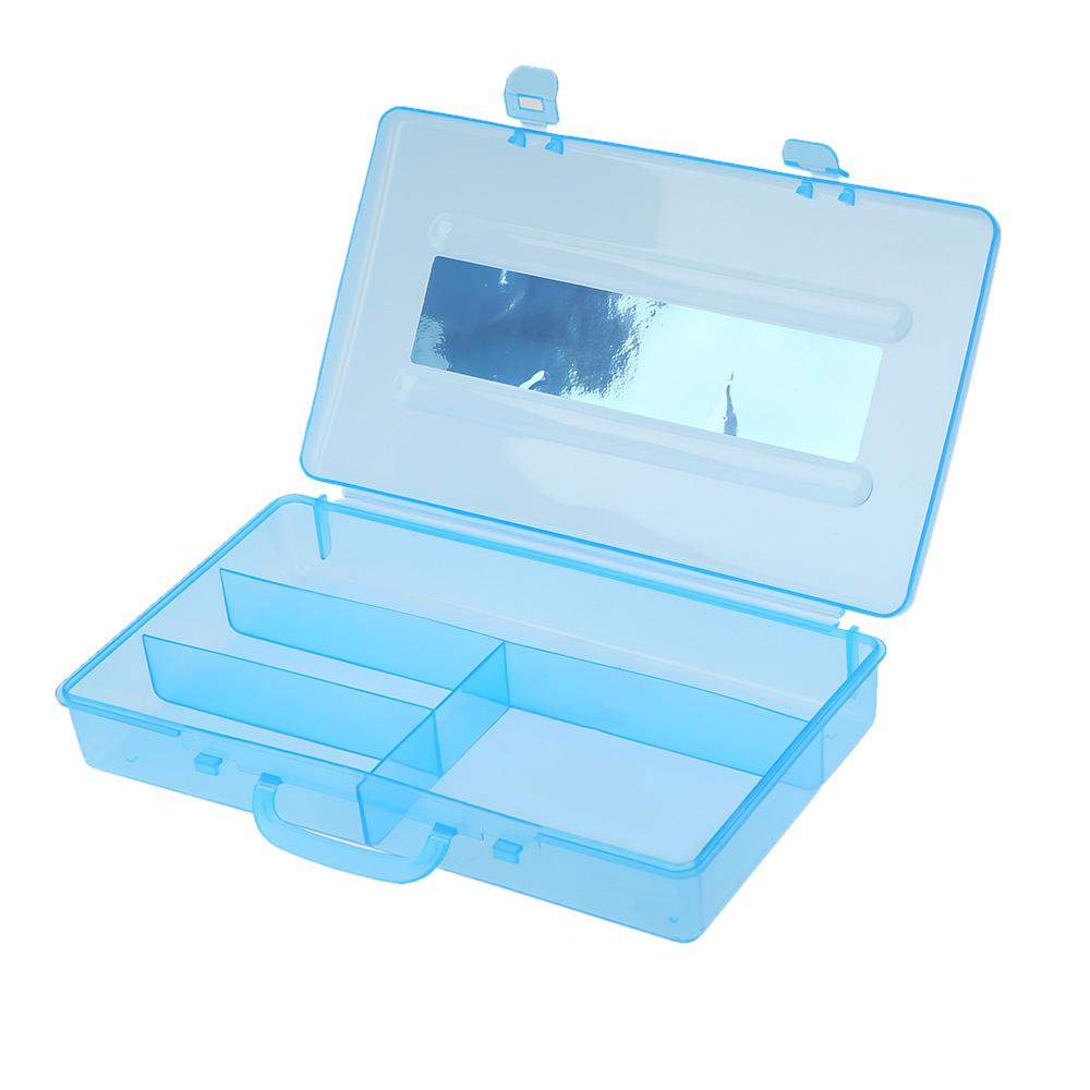 Manicure Nail Art Tool Box Utility Storage Plastic Case Cosmetic Makeup Craft Salon Kit(China (Mainland))