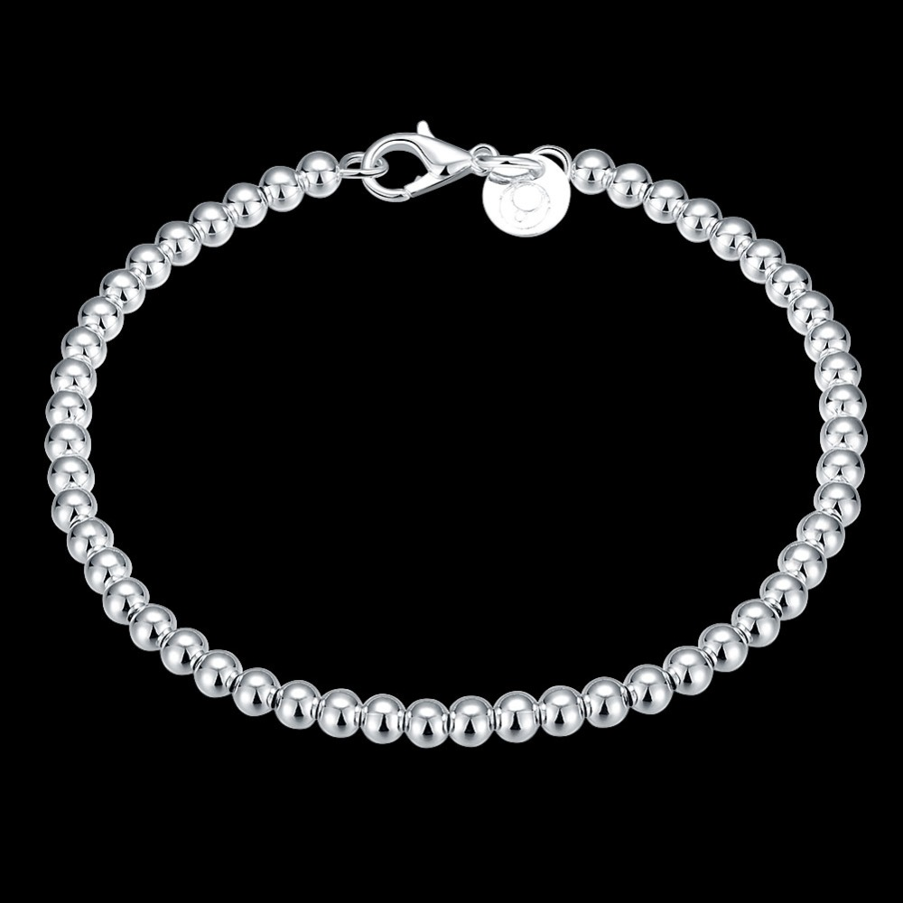 free shipping Hot sale single wire small silver bead chain(China (Mainland))