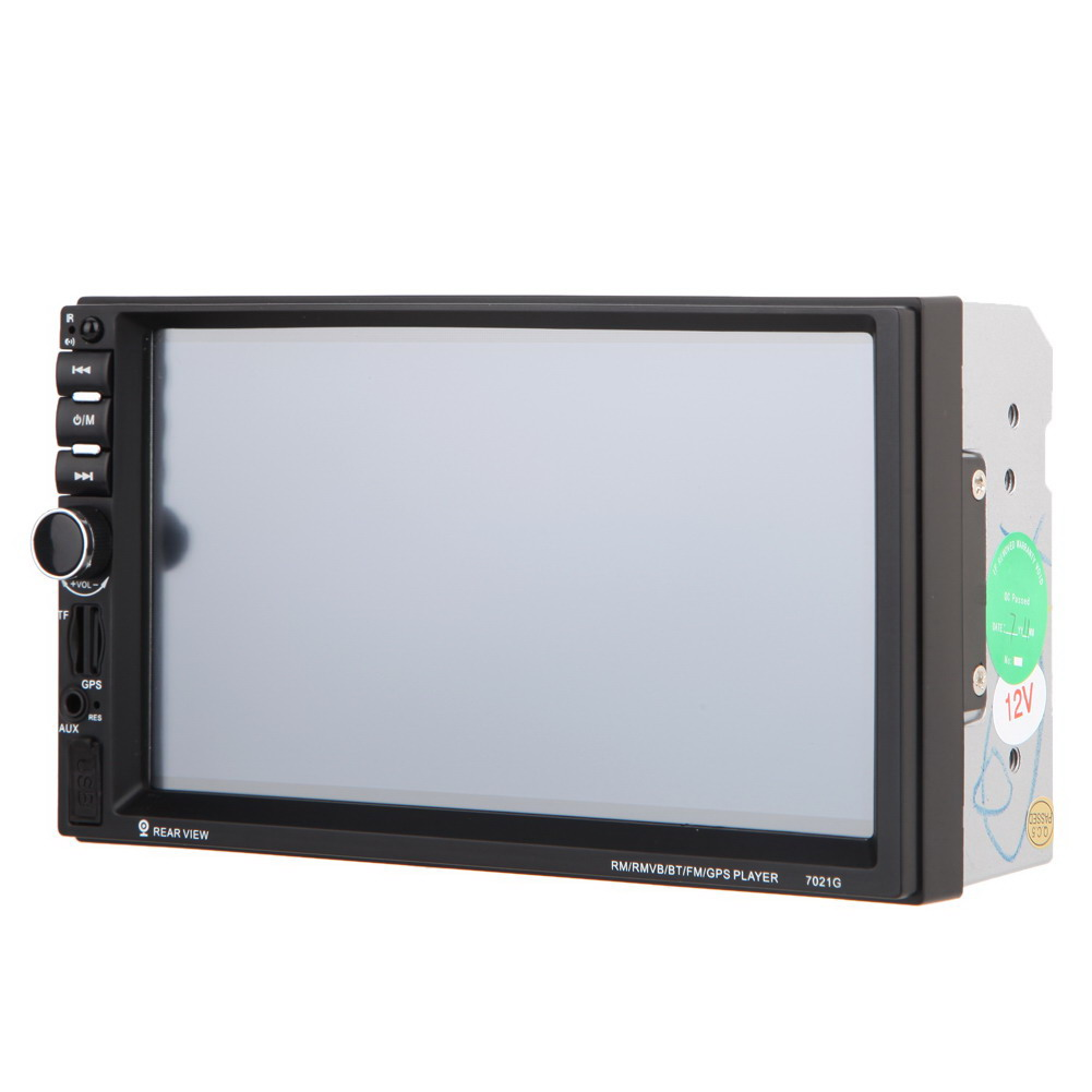 Купить 7 дюймов 2 Din Автомобильный Радиоприемник MP5 Плеер Цифровой HD сенсорный Экран Bluetooth Handsfree Поддержка USB/TF/FM DVR/Вход Aux U диск GPS