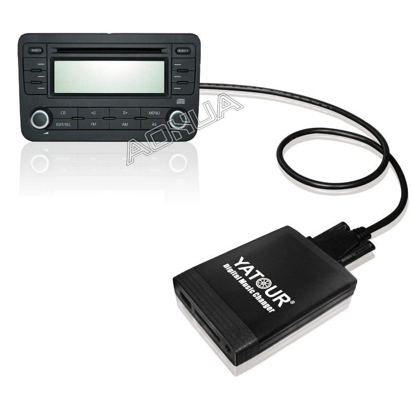 Yatour YTM06-REN8 FOR Renault Siemens VDO Dayton 8-pin head unit YT-M06 Car USB MP3 SD AUX adapter Digital CD Changer interface(China (Mainland))