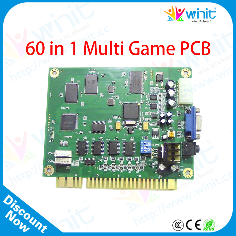 60 1 Jamma Classical Game PCB Cocktail Arcade Machine Board Table Top Cabine - Guangzhou Yingnuo Information Technology Co., Ltd. store