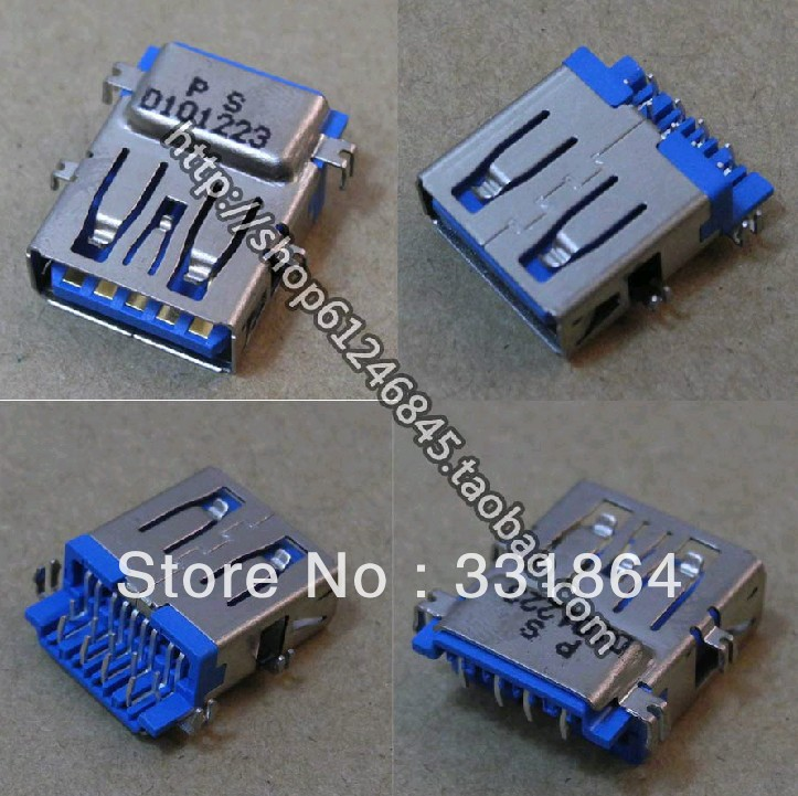 a Pieces new laptop USB 3.0 plug / socket / interface / Applicable Lenovo Asus Acer<br><br>Aliexpress
