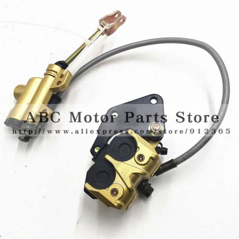Dirt bike 110cc Rear Brake Assembly Off-road motorcycle accessories Apollo pump disc brake caliper assembly up and down the pump(China (Mainland))