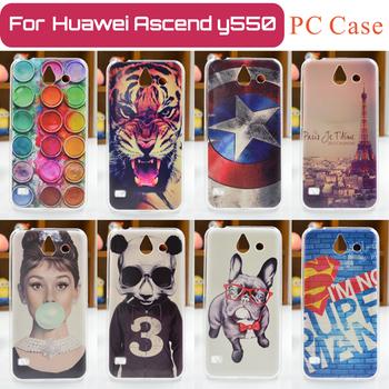 Etui dla Huawei Ascend Y550 | malowane wzory